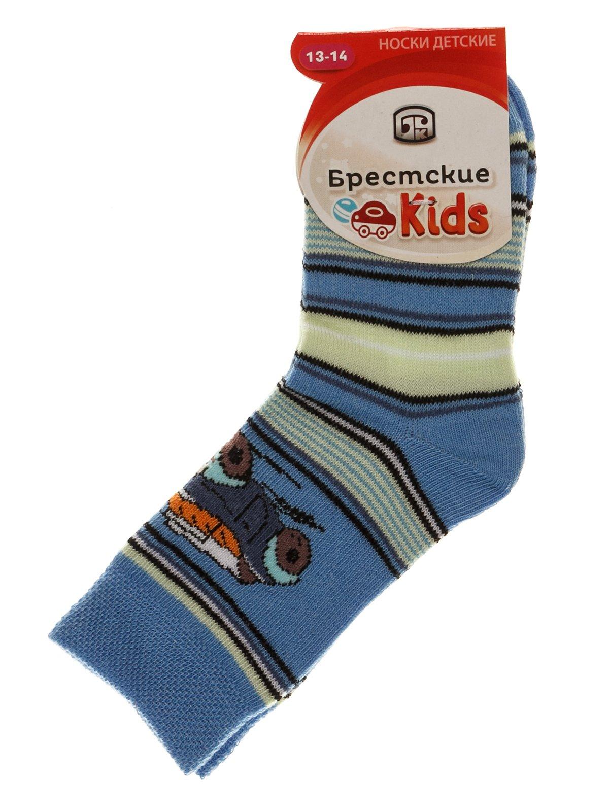Носки голубые | 3750545