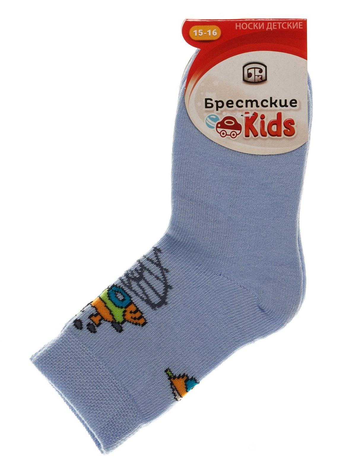 Шкарпетки блакитні | 3750556
