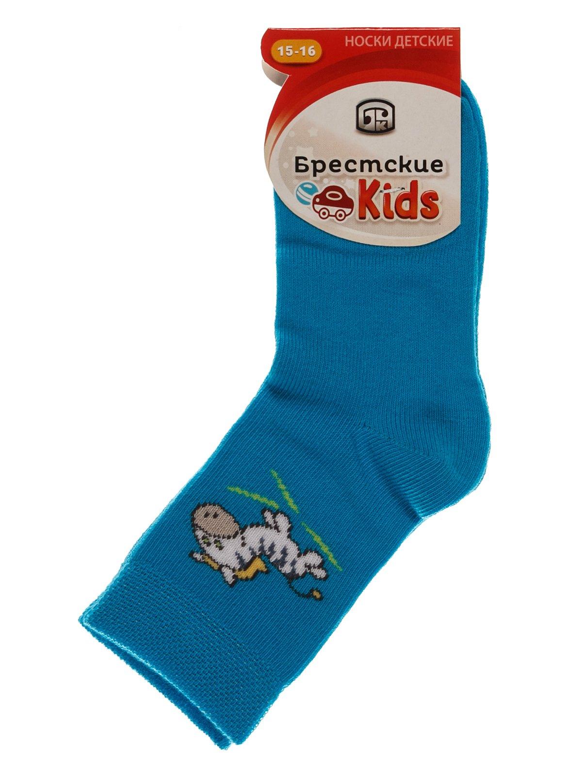 Шкарпетки бірюзові | 3750560