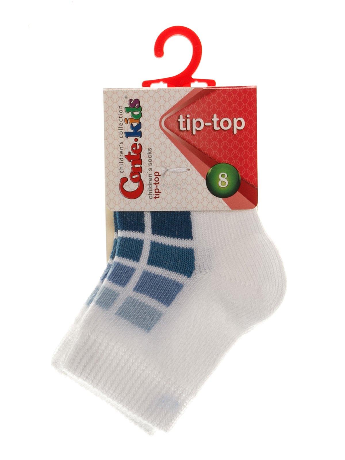 Шкарпетки біло-сині | 3750270