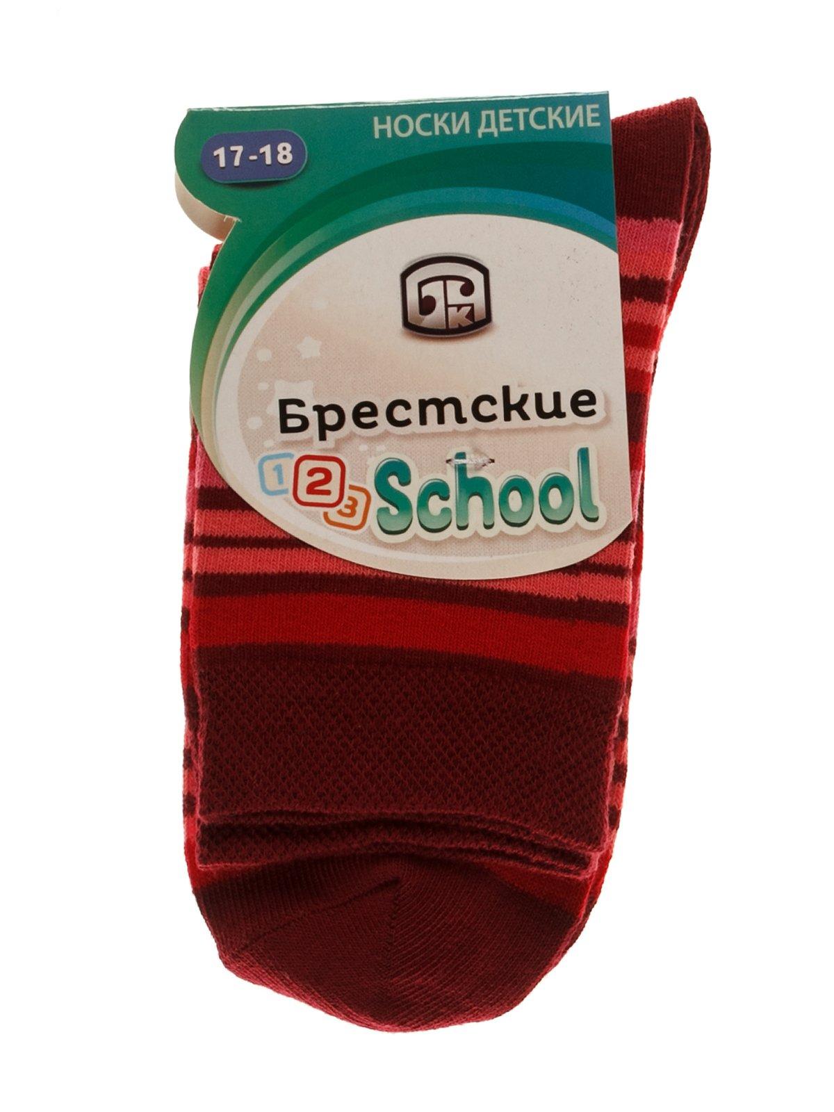 Шкарпетки бордові | 3750582