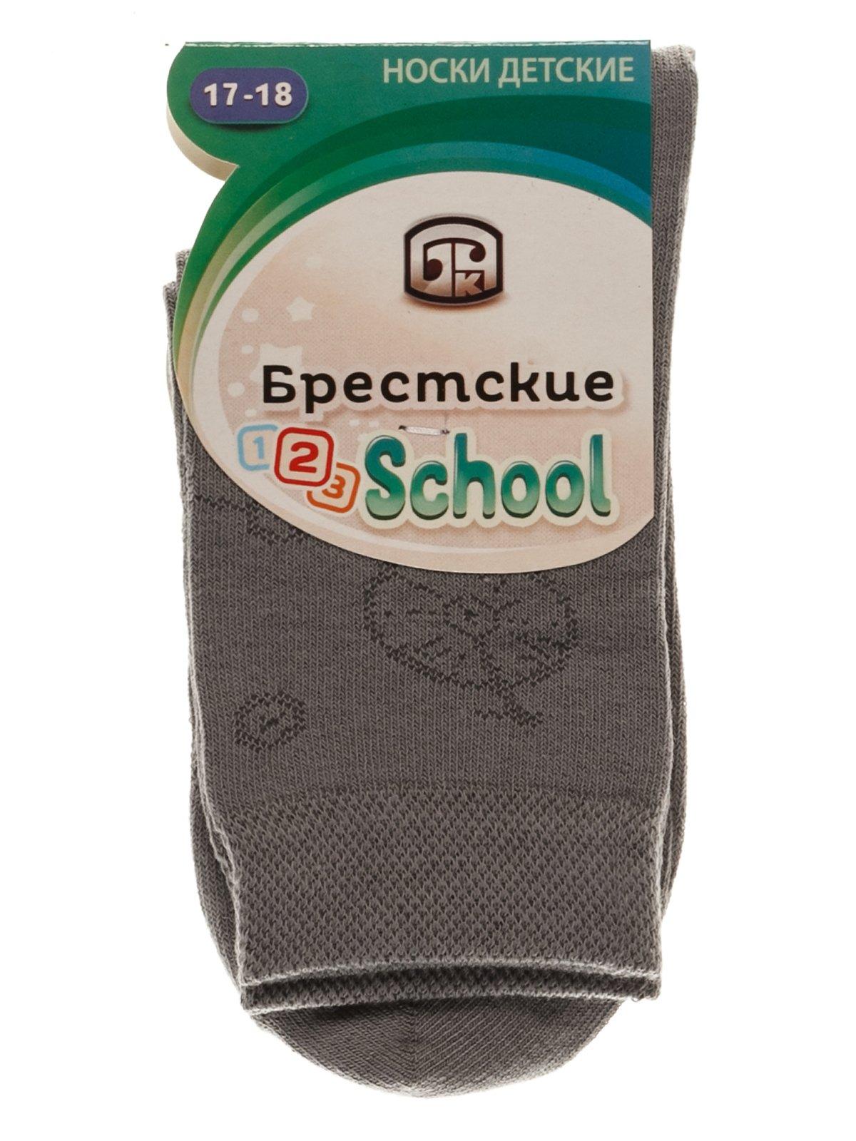 Шкарпетки сірі | 3750578