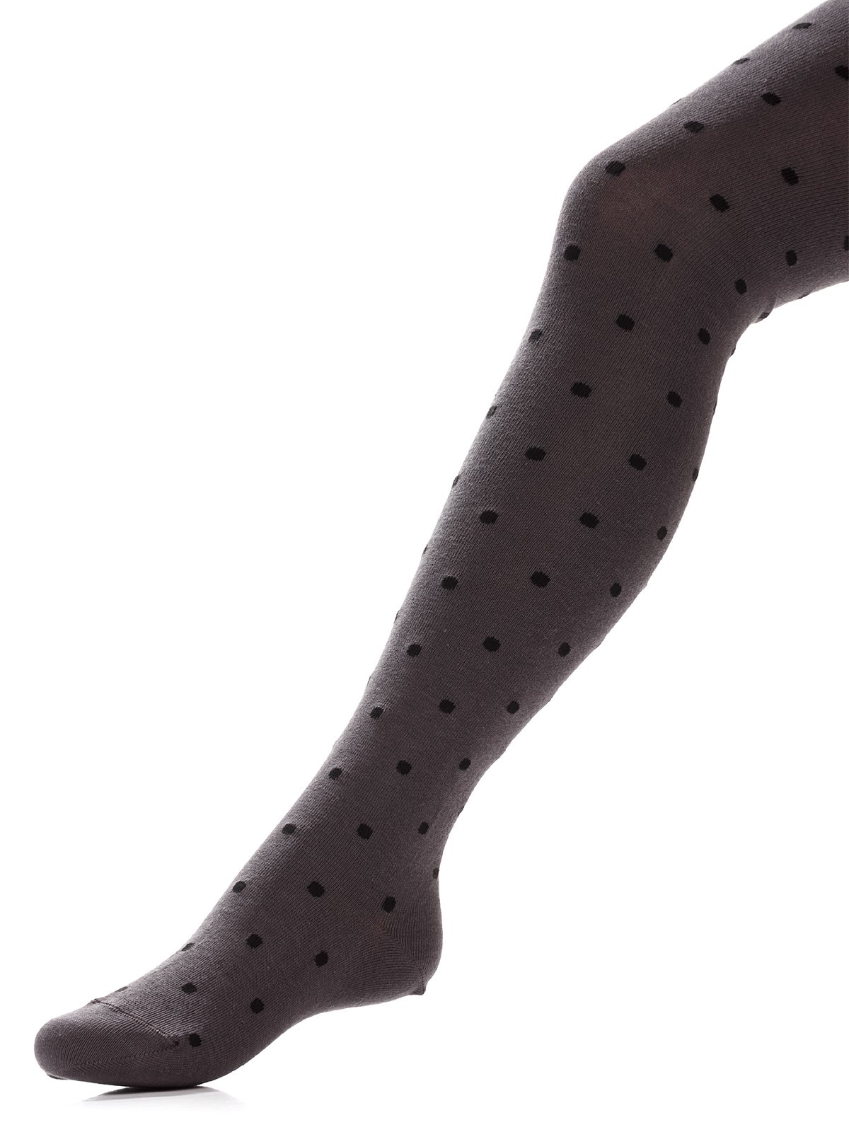 Колготки темно-сірі з малюнком | 3750123