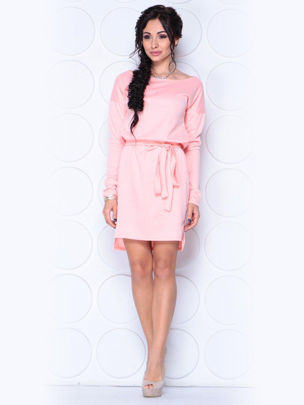 Платье персикового цвета | 3788875