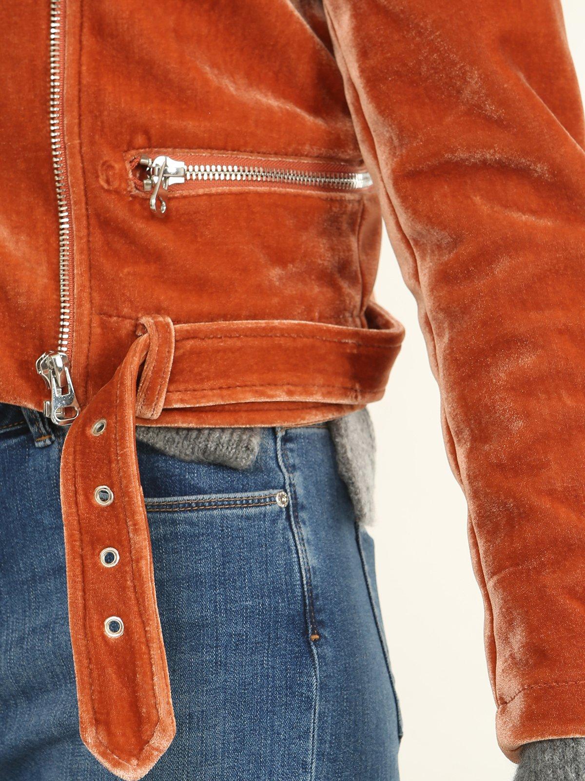 Куртка рыжего цвета | 3786880 | фото 5