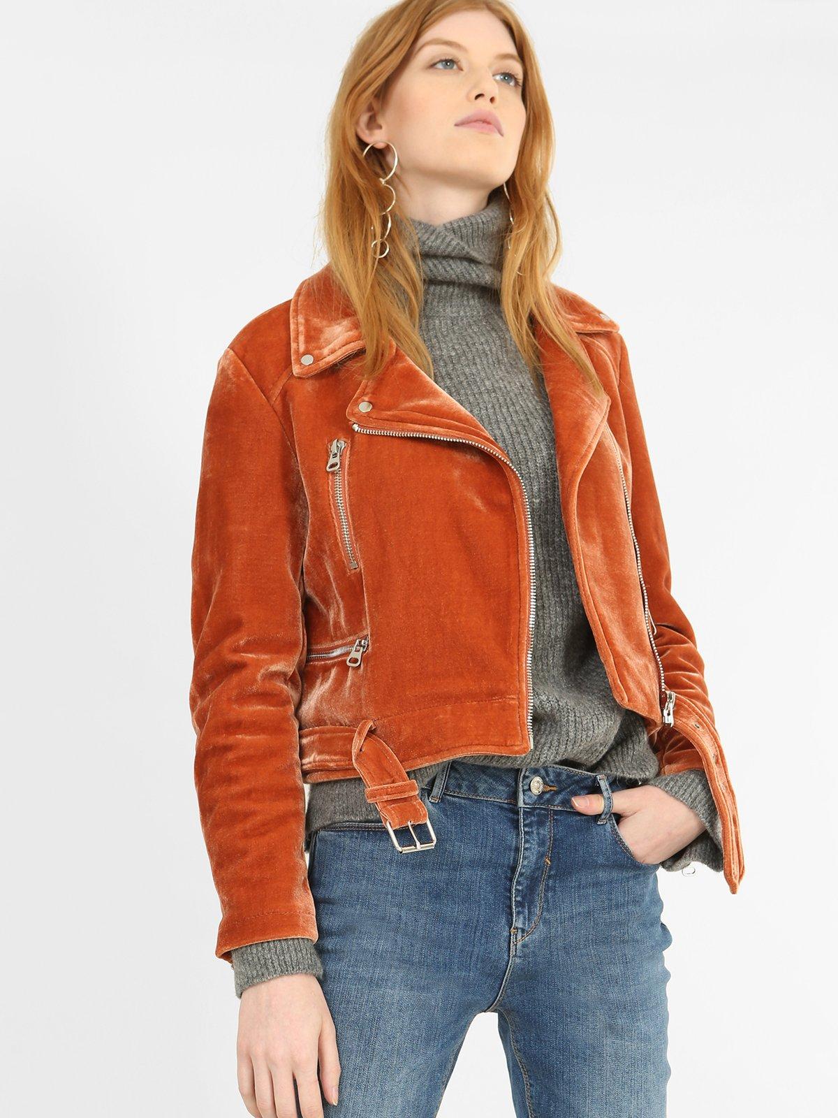 Куртка рыжего цвета | 3786880 | фото 2