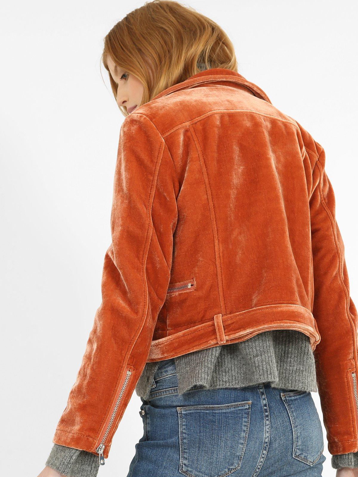 Куртка рыжего цвета | 3786880 | фото 3