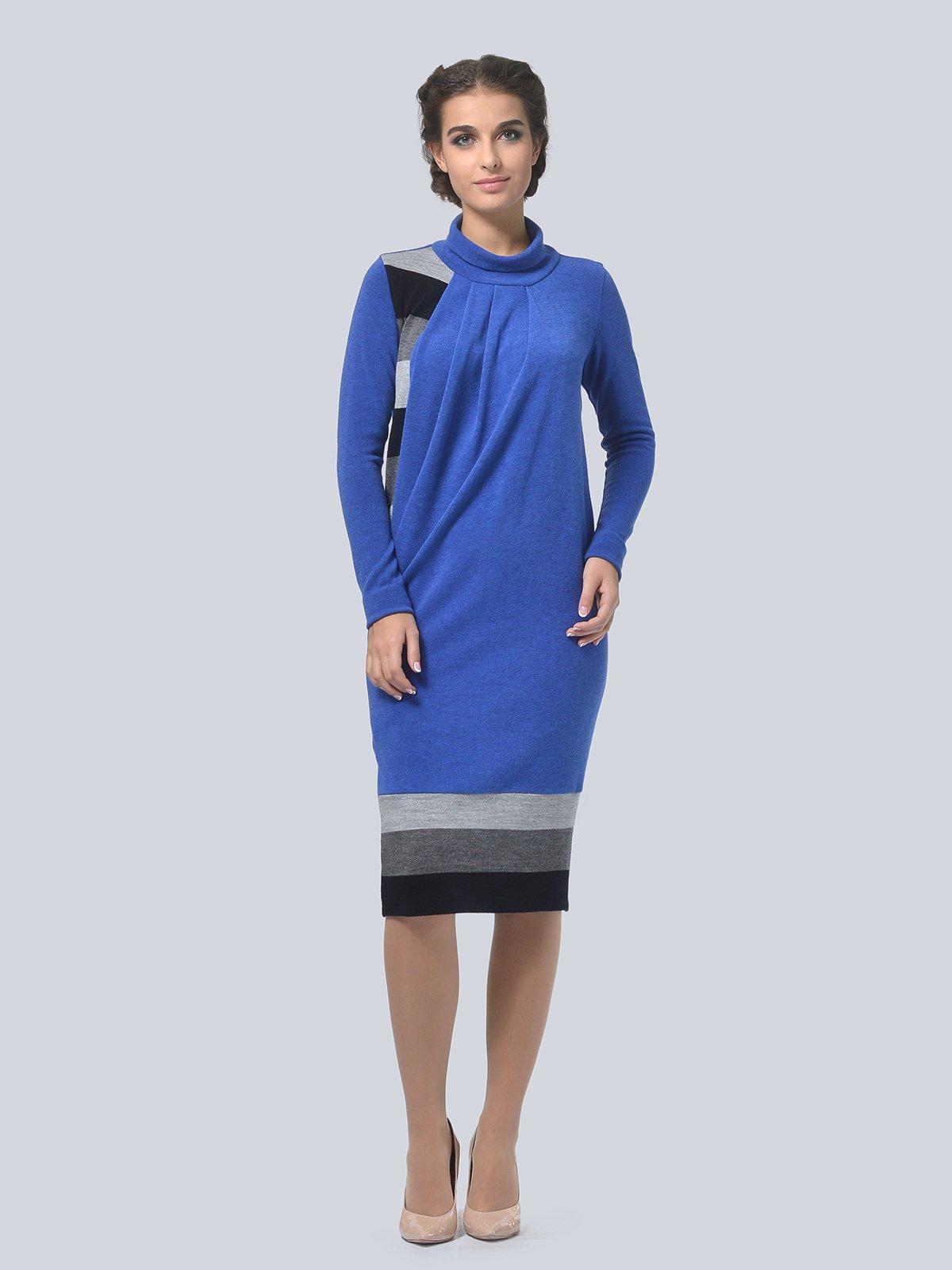 Платье цвета электрик | 3794569