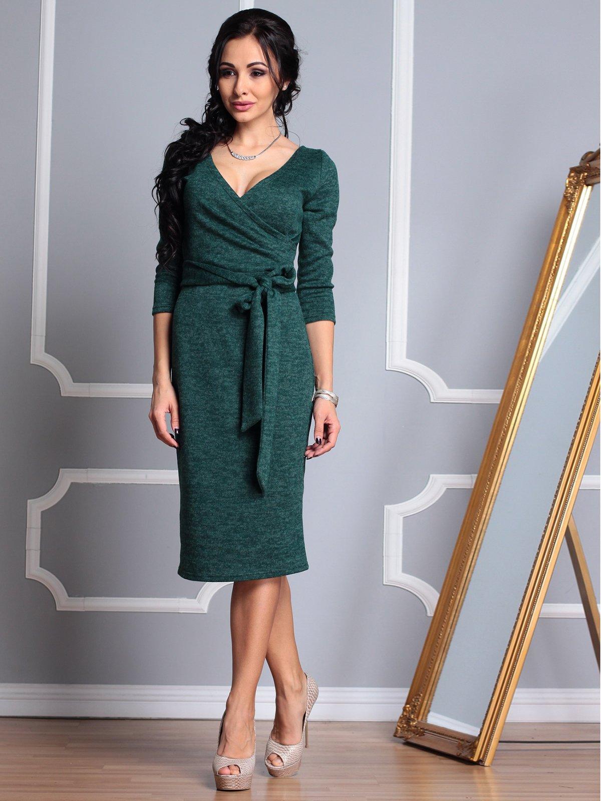 Сукня темно-смарагдова | 3788186