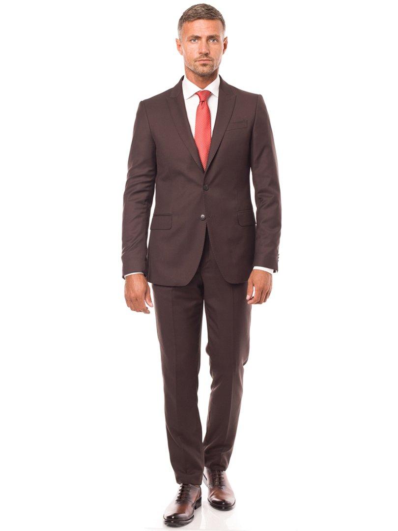 Пиджак коричневый | 3800912 | фото 2