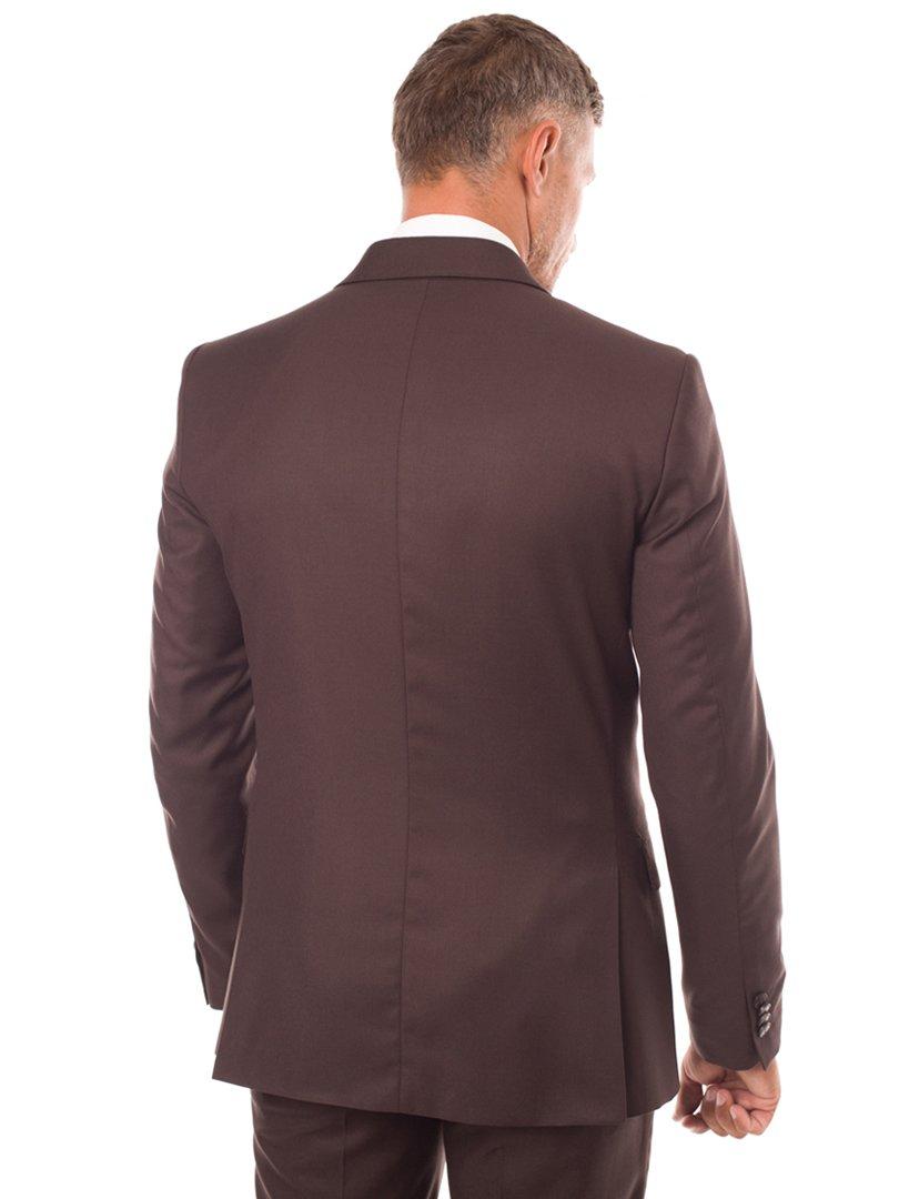 Пиджак коричневый | 3800912 | фото 3