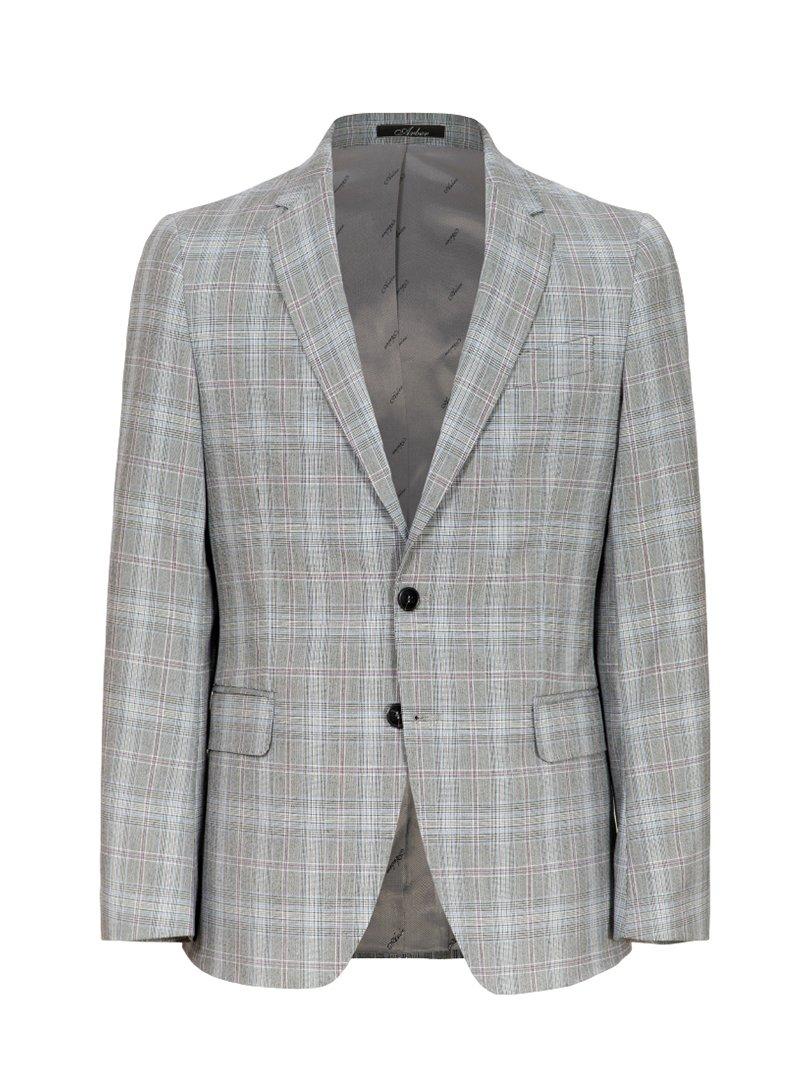 Пиджак серый | 3800905 | фото 3
