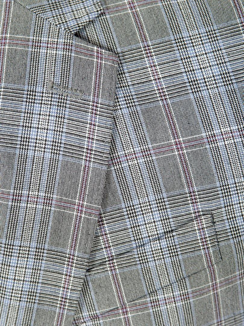 Пиджак серый | 3800905 | фото 4