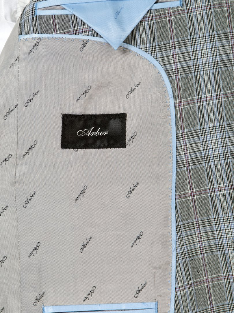 Пиджак серый | 3800905 | фото 5
