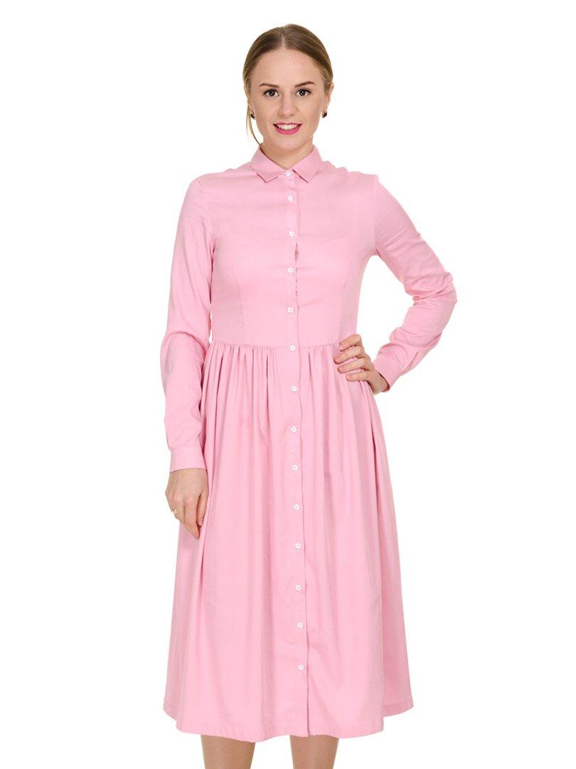 Платье розовое | 3801703