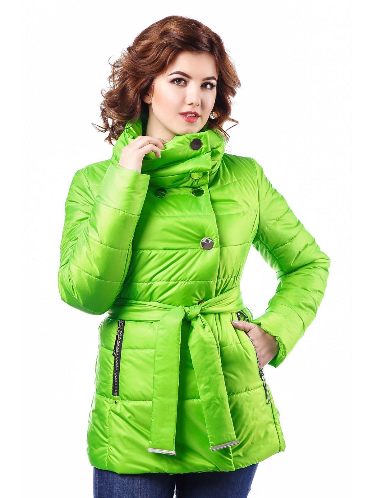 Куртка зелена | 3810579