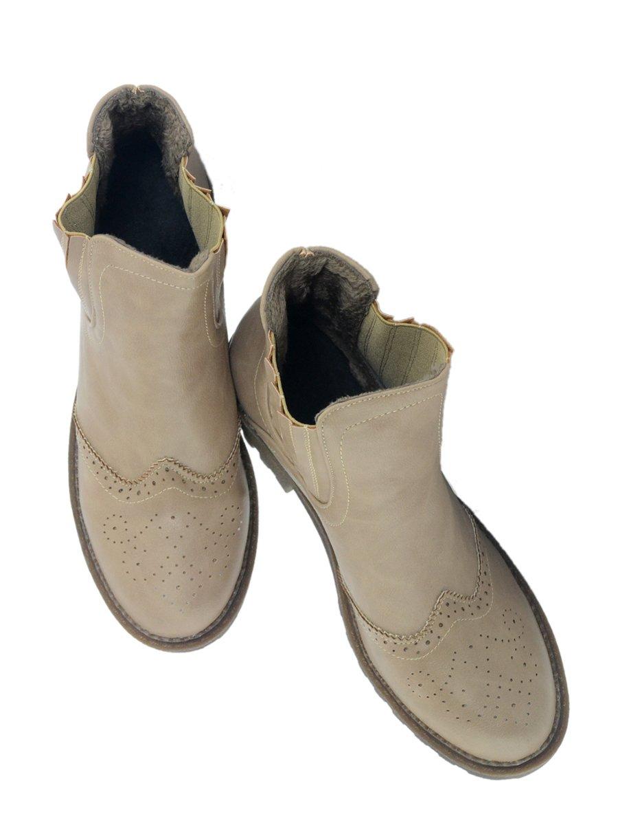 Ботинки бежевые | 3810792 | фото 3