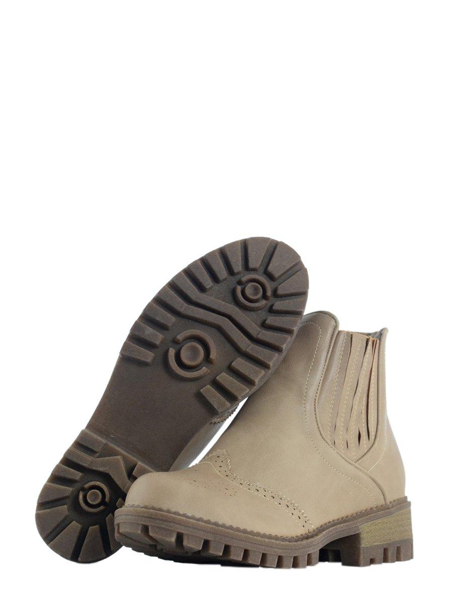 Ботинки бежевые | 3810792 | фото 4