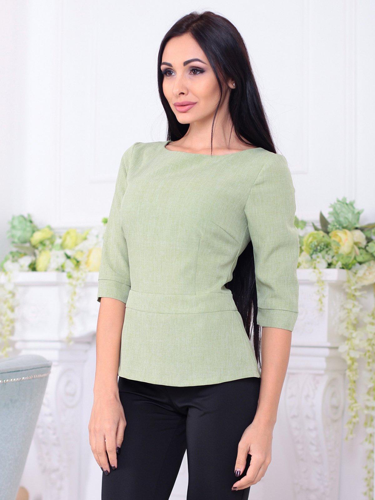 Блуза оливкового цвета | 3788251