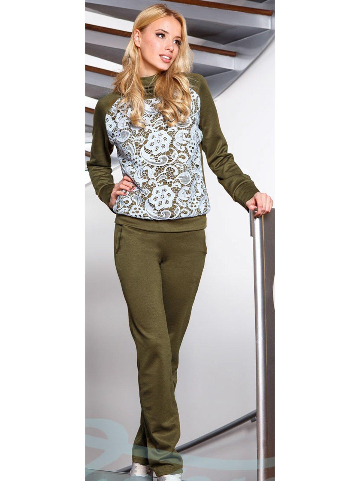 Костюм: свитшот и брюки | 2906498