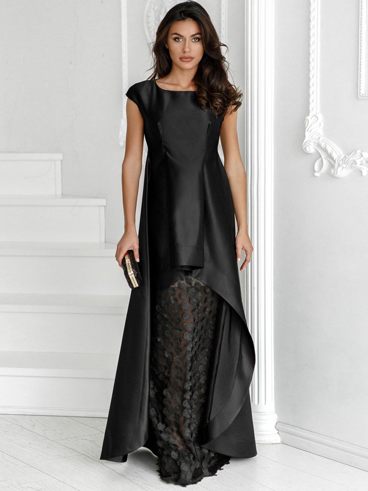 Платье черное | 3814043