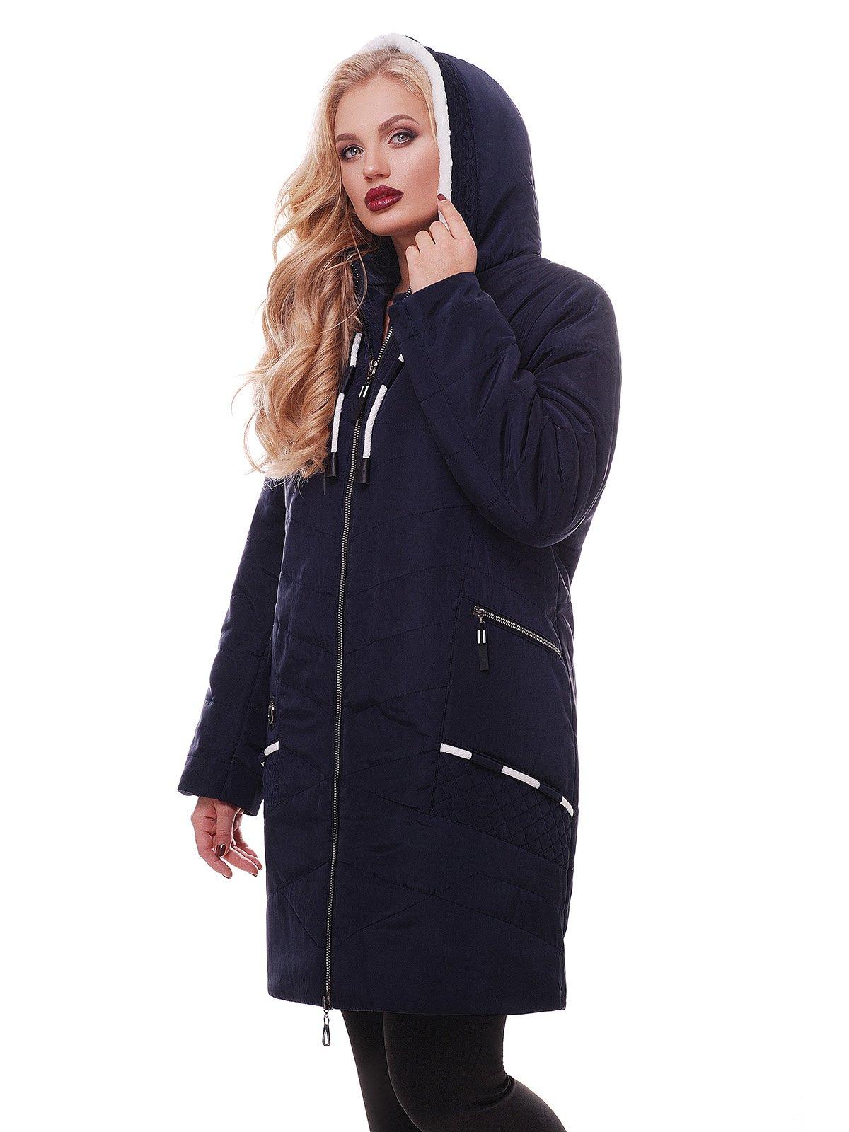 Куртка темно-синяя | 3814240 | фото 2
