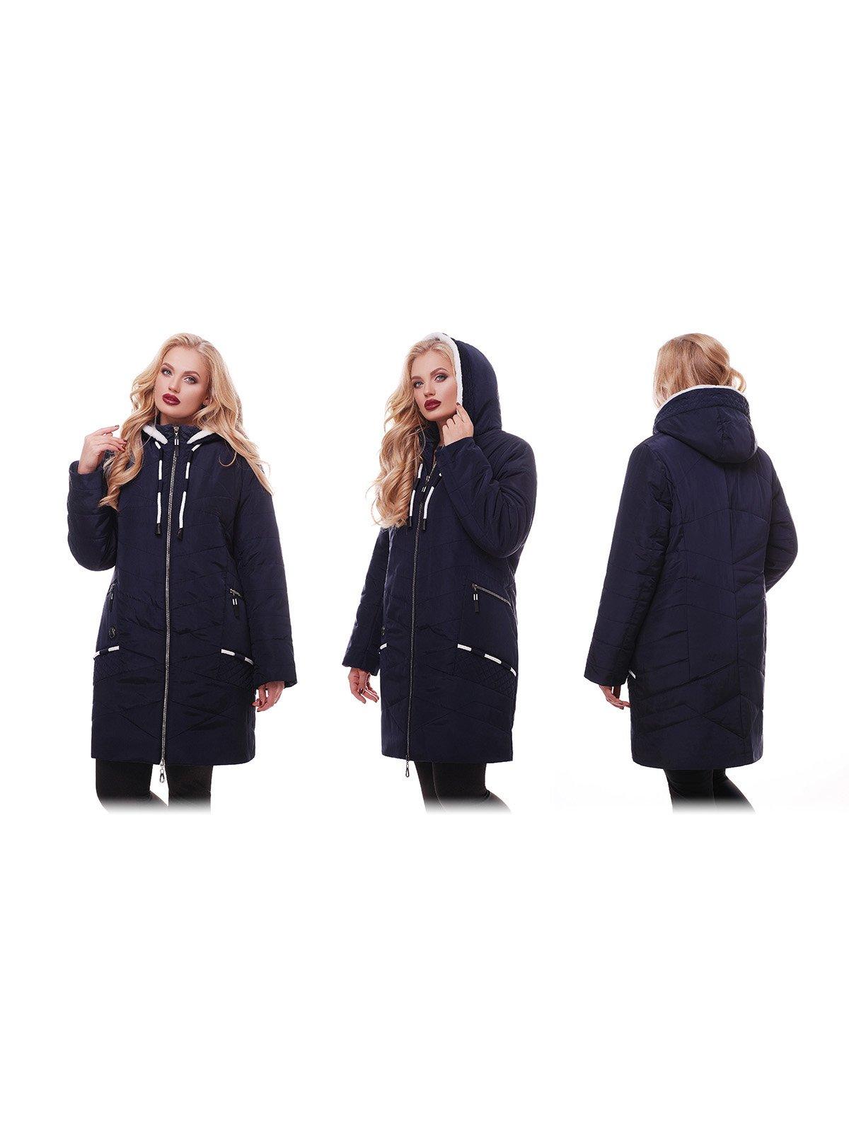 Куртка темно-синяя | 3814240 | фото 4