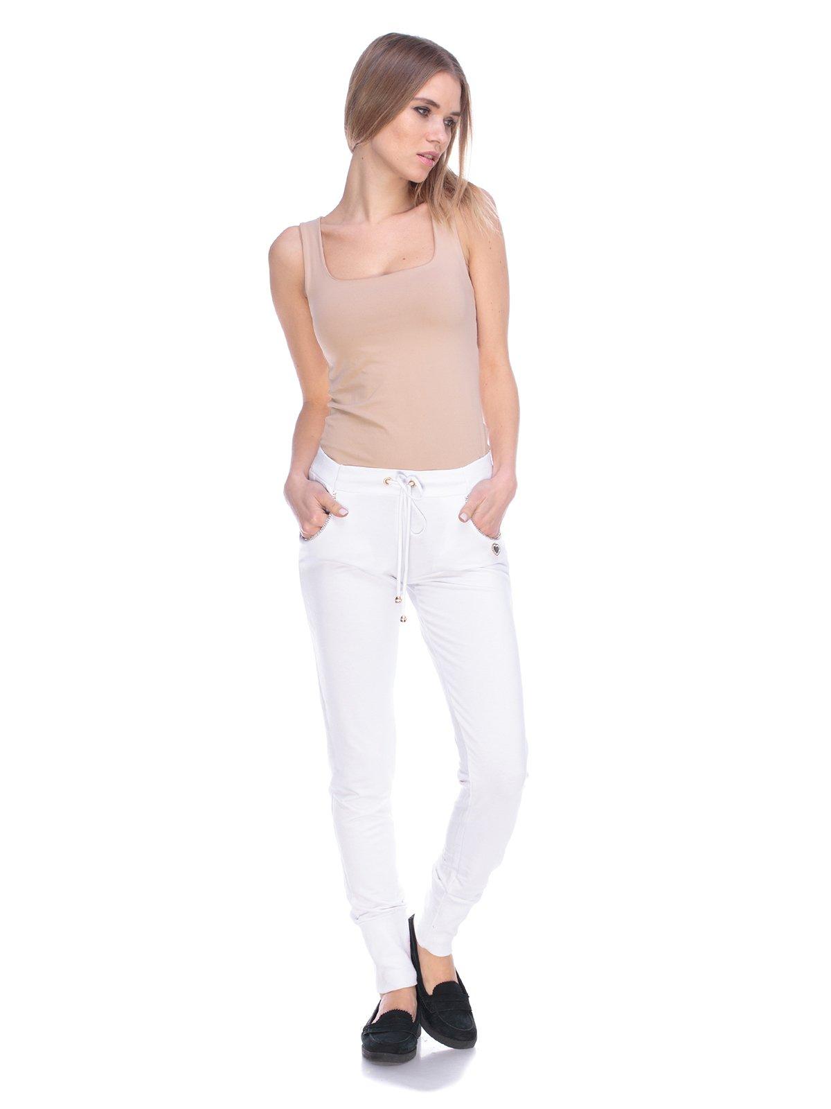 Штани білі | 3800397