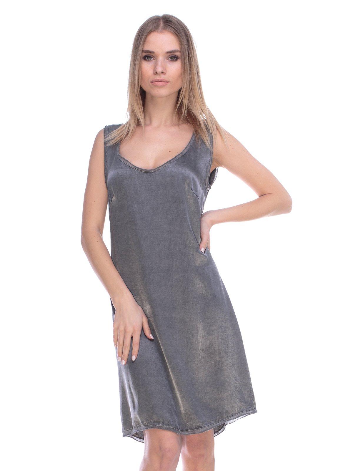 Платье серое   3800435
