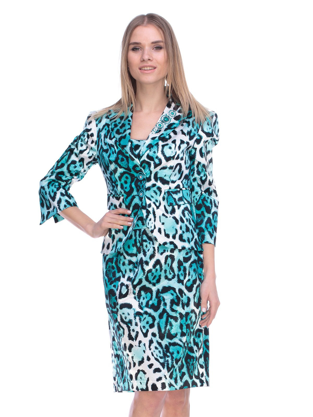 Комплект: жакет і сукня   3800426