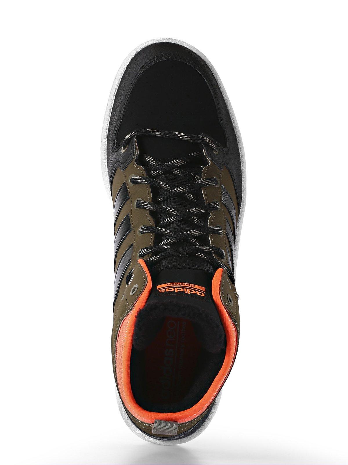 Кроссовки коричнево-черные   3694788