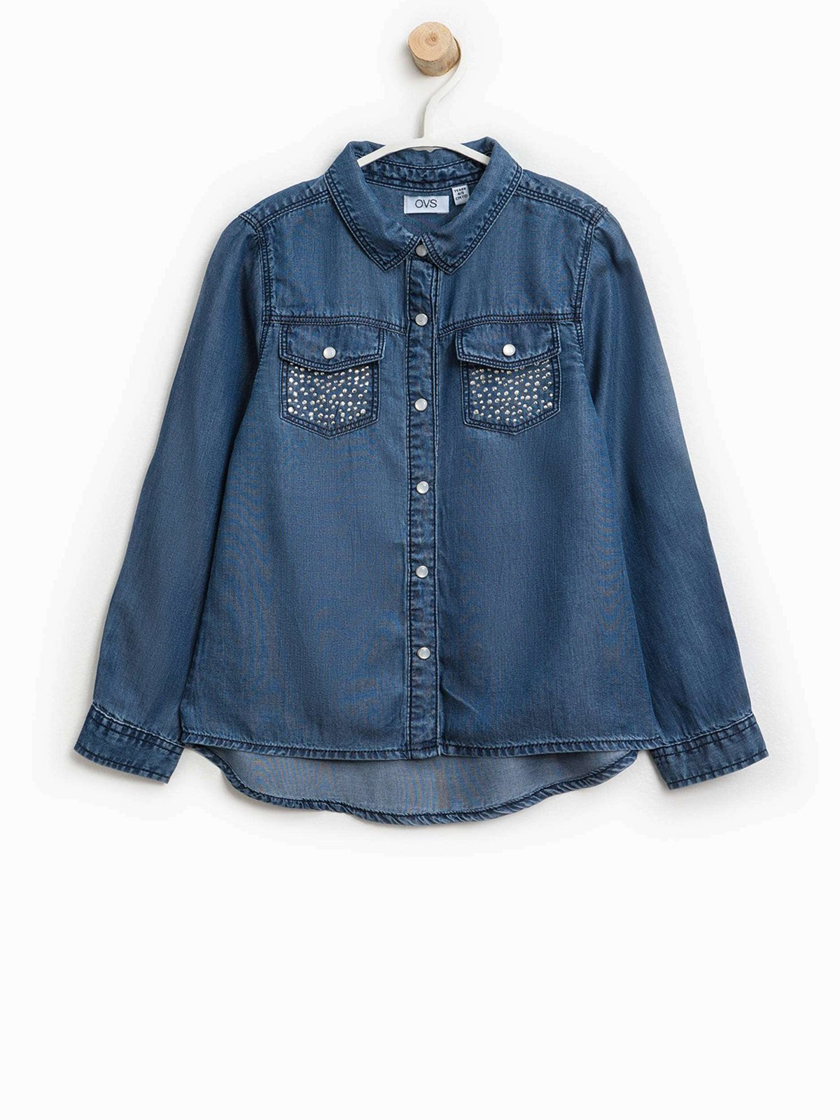 Рубашка синяя | 3607701