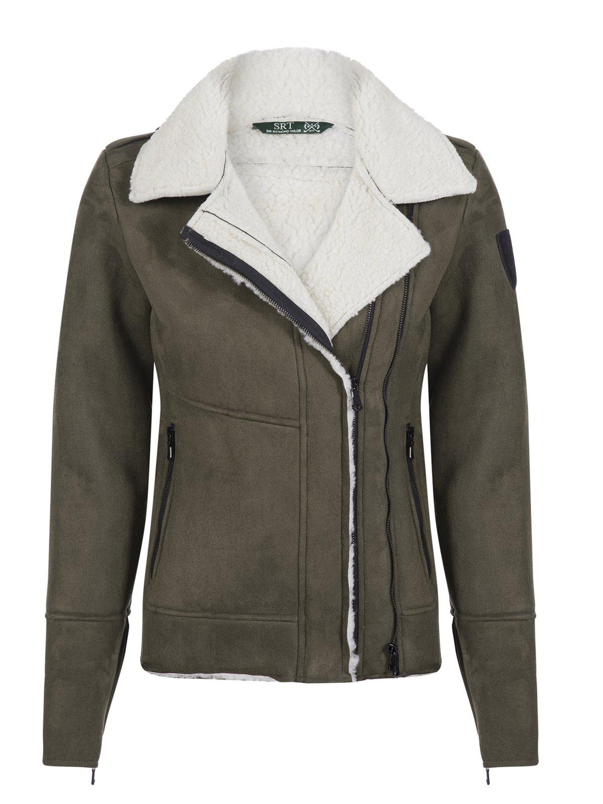 Куртка цвета хаки | 3819404