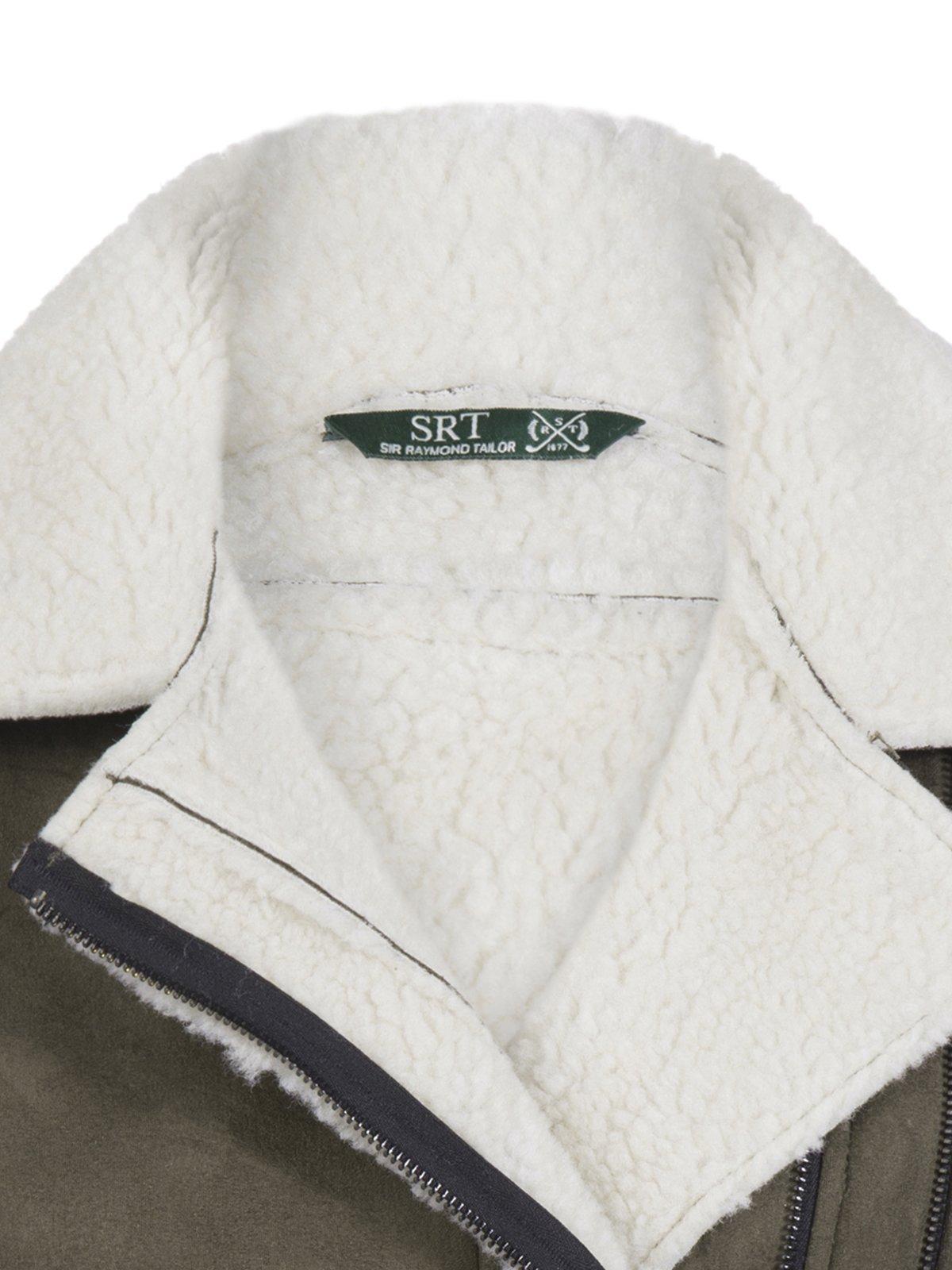 Куртка цвета хаки | 3819404 | фото 2