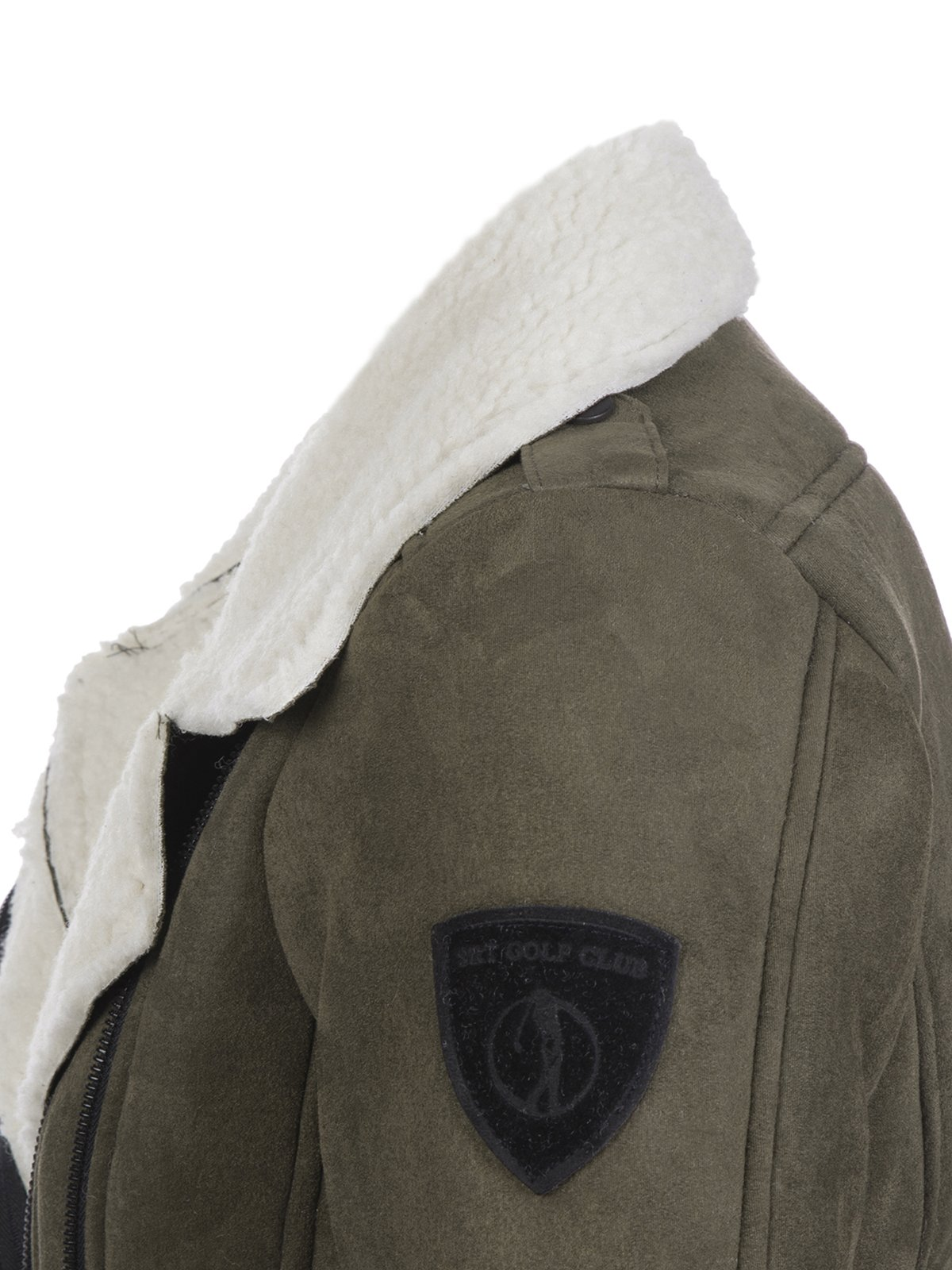 Куртка цвета хаки | 3819404 | фото 3