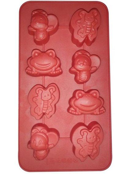 Форма для випічки силіконова «Жучки» (21х11,5х2 см) | 3823056