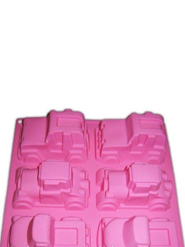 Форма для випічки силіконова «Машинки» (22,5х23х6 см) | 3823075