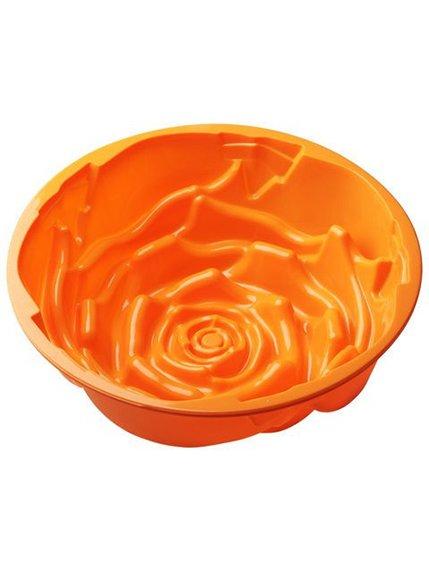 Форма для випічки силіконова «Троянда» (23,5х6 см) | 3823084