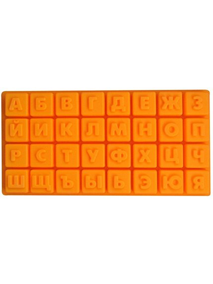Форма силіконова «Російський Алфавіт» (35х18х2 см) | 3823088