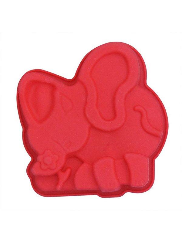 Форма для випічки силіконова «Слоники» (13х10х3 см)   3823089