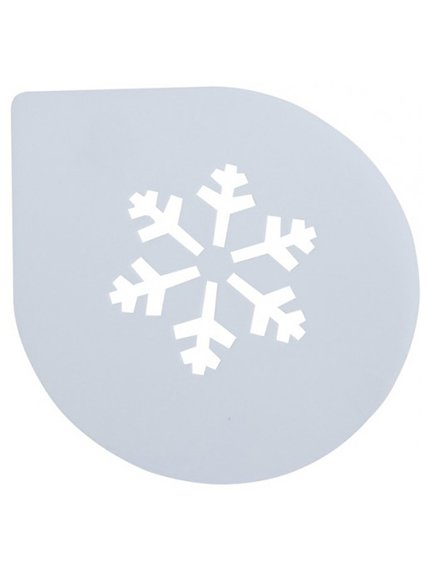 Трафарет для торта «Сніжинка» (250 мм) | 3823114