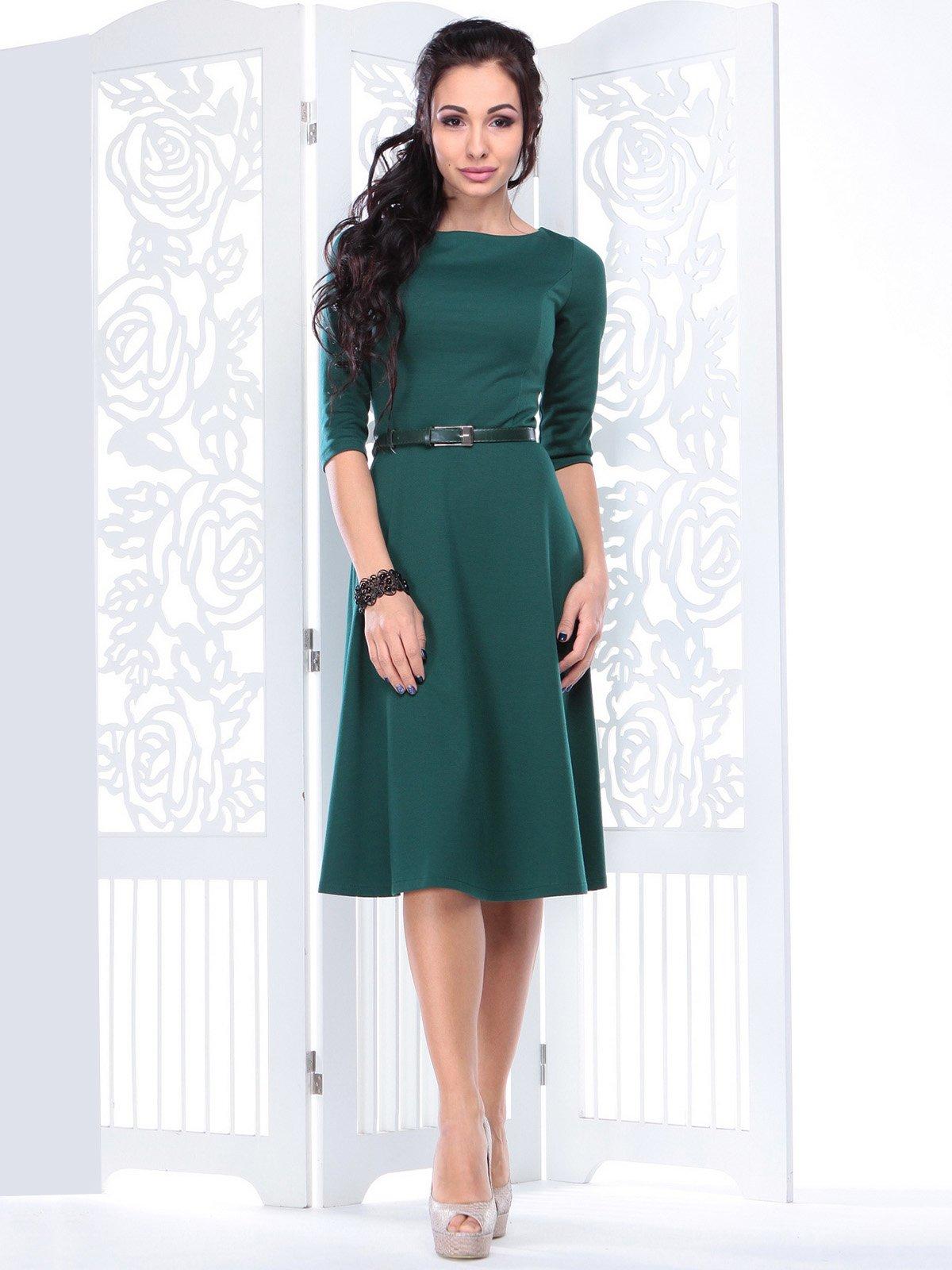 Платье изумрудного цвета | 3823556