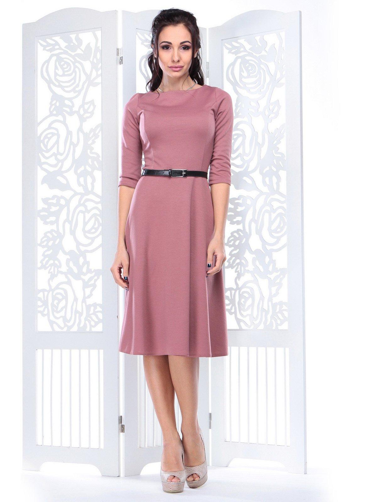Платье цвета розовой дымки   3823560