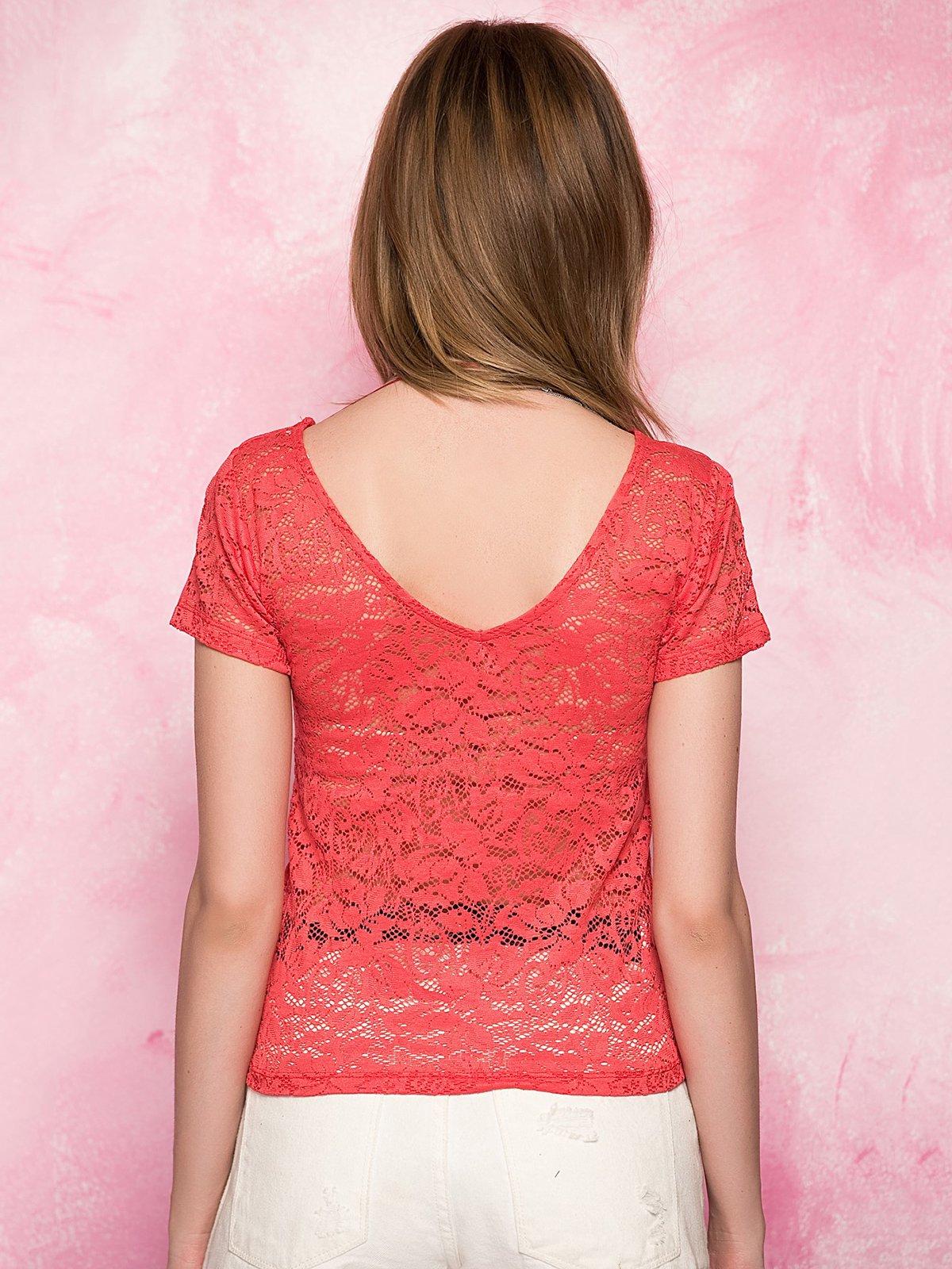 Блуза червона   3828411   фото 2