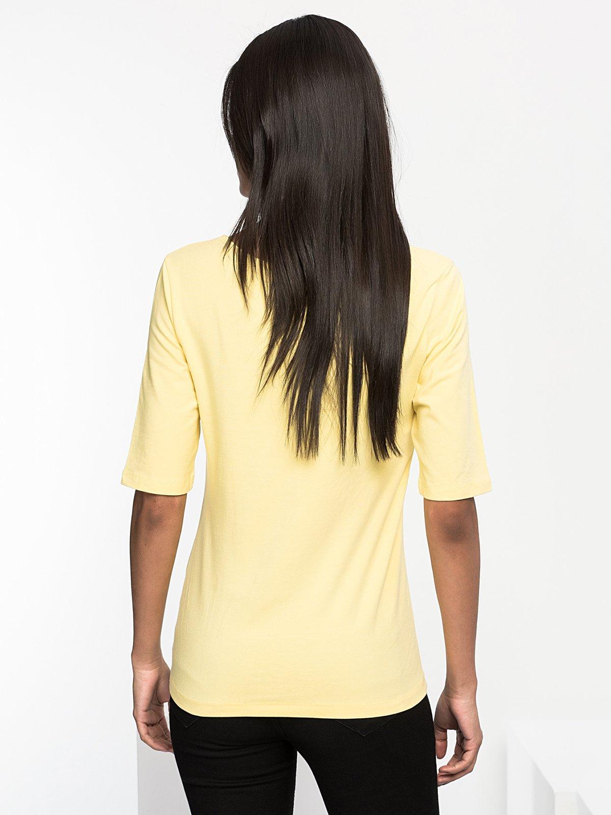 Футболка жовта | 3828436 | фото 2