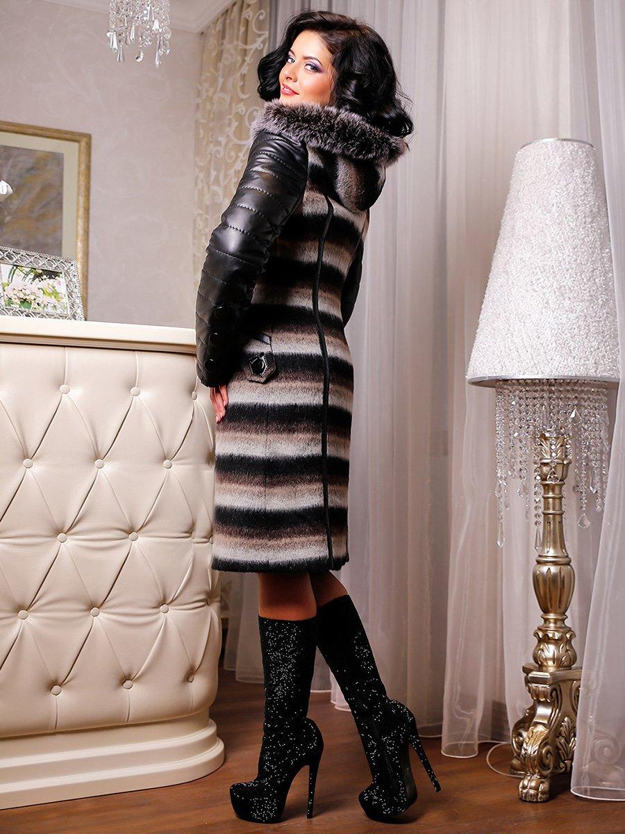 Пальто в полоску | 3830974 | фото 2