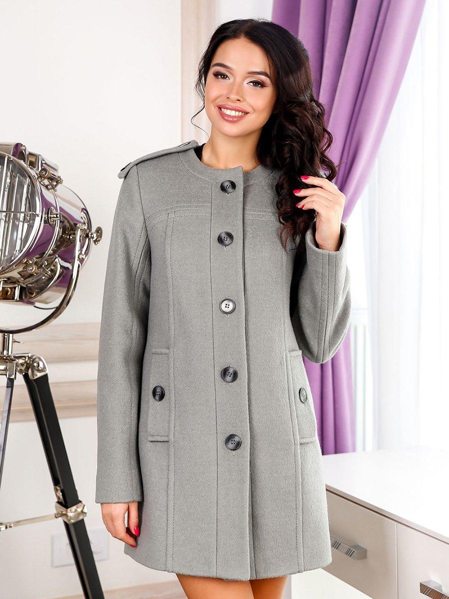 Пальто оливкового кольору | 3830992