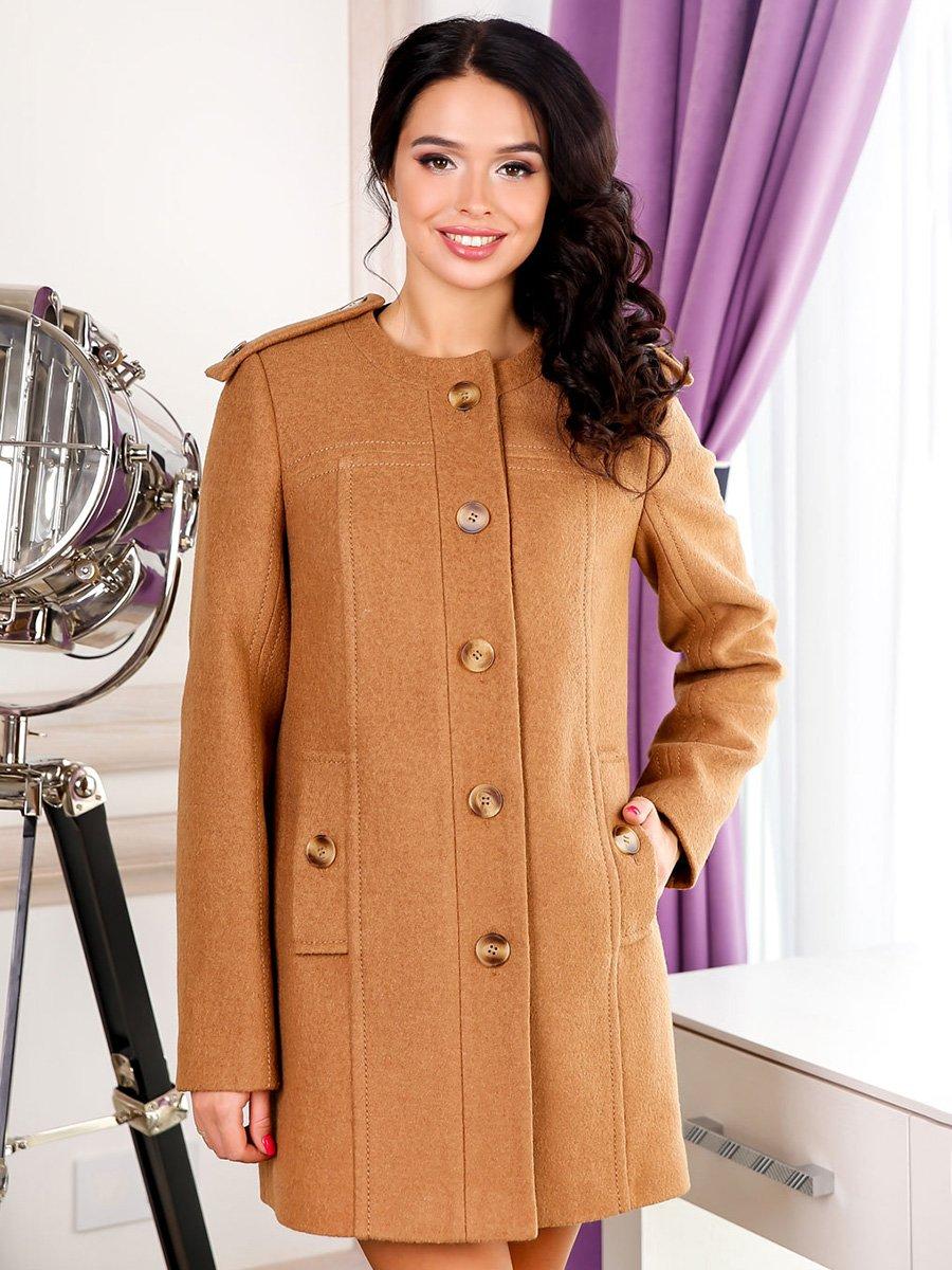 Пальто рыже-коричневое | 3831006
