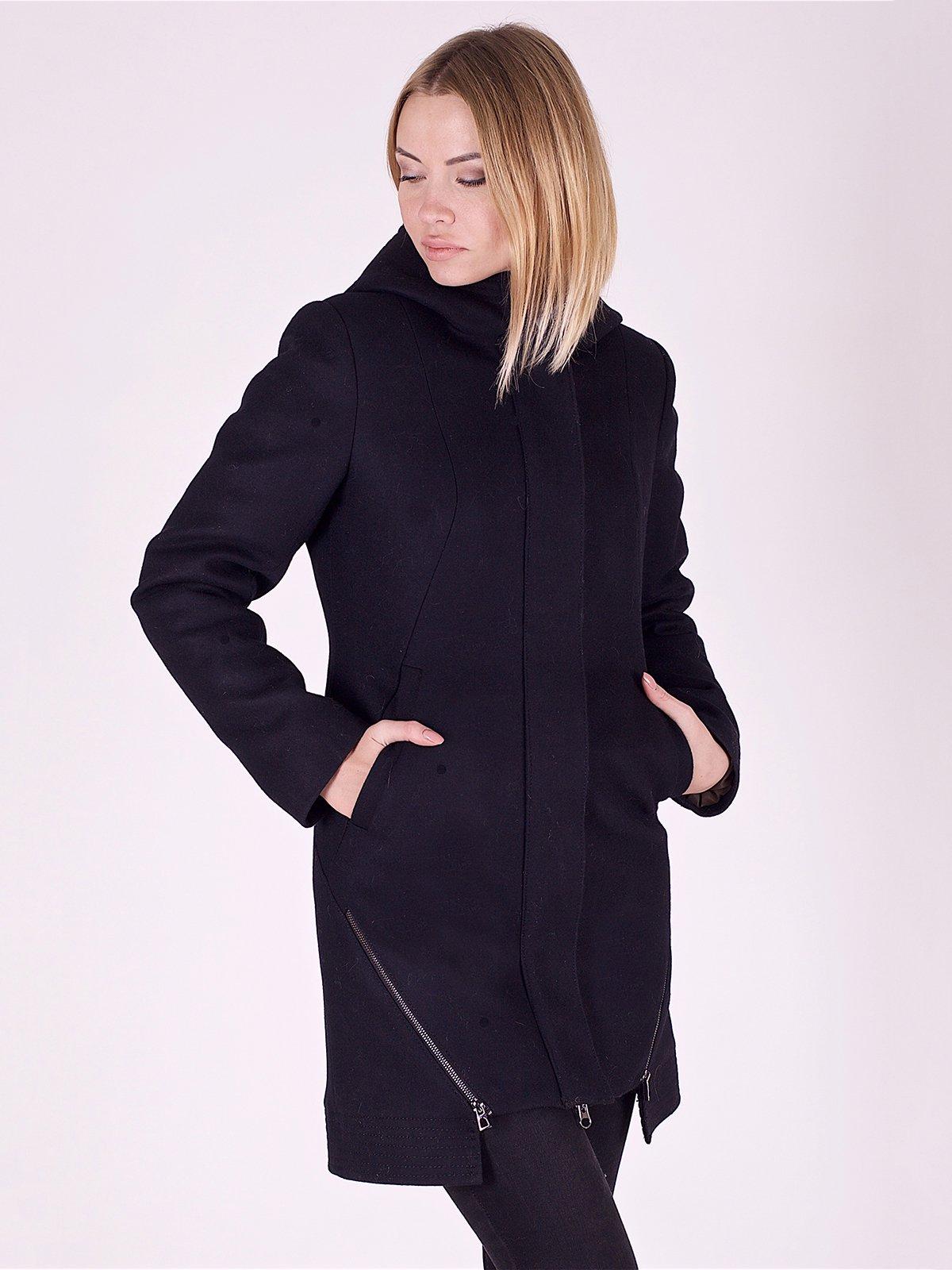 Пальто чорне | 2618066