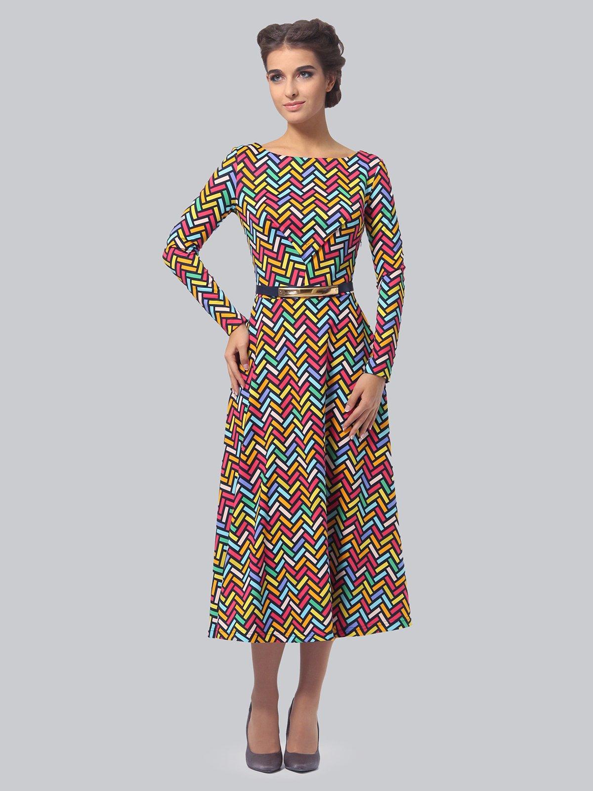 Платье в принт   3840402